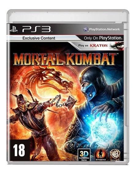 Mortal Kombat 9 Ps3 Midia Fisica Pronta Entrega