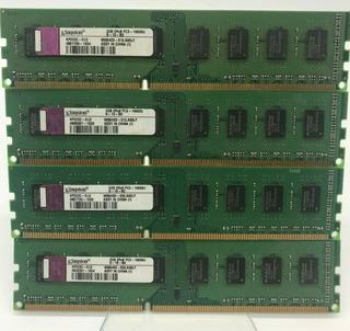 Memoria Ram Ddr3 Desktop 4x2gb Total 8gb 1333mhz. Usado