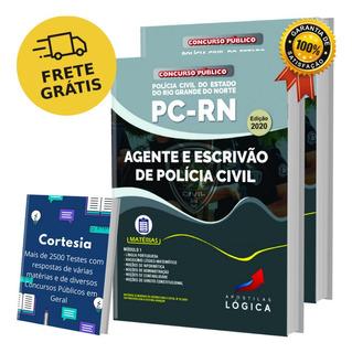 Apostila Concurso Pc Rn - Agente Escrivão Polícia De Civil