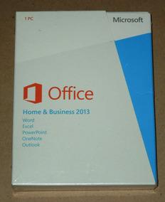 Office Home And Business 2013 Fpp Box Original Lacrado!