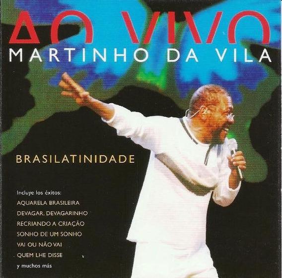 Martinho Da Vila Ao Vivo Brasilatinidade ( Promocional )