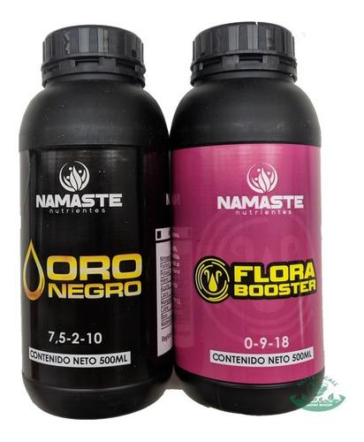 Nutripack Namaste Oro Negro Flora Booster 500ml Grow Shop