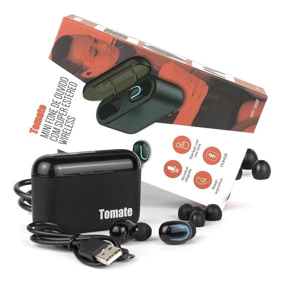 Fone De Ouvido Sem Fio Wireless Bluetooth Tomate Original