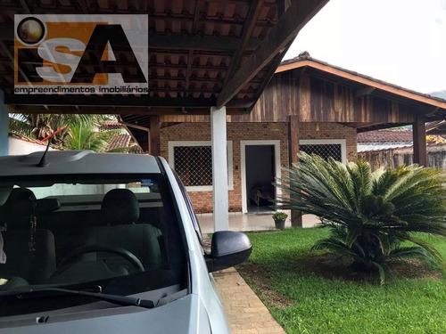 Casa Residencial Em Pereque Mirim - Ubatuba, Sp - 3180