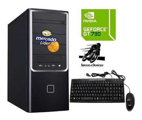 Computador Gamer Core I7 8va Gn 1tb 8gb Gt-730 4gb Cpu