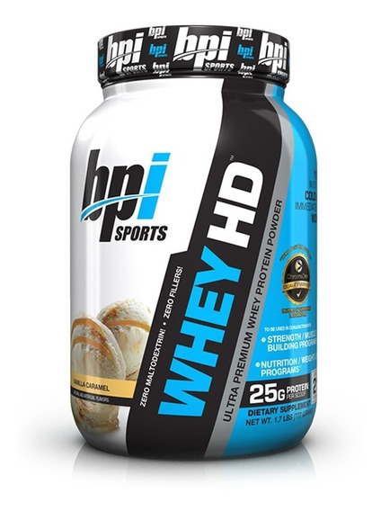 Whey Hd 1,8 Lbs Bpi Sports Proteina Isolate