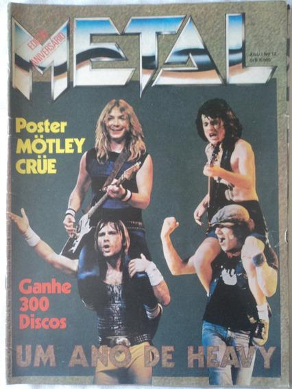 Revista-metal:#12:edição De Aniversário:warlock,lita Ford