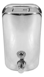 Dispenser De Jabon Liquido Acero Inoxidable Baño Publico Primera Calidad 800 Ml Ahora 12 Y 18