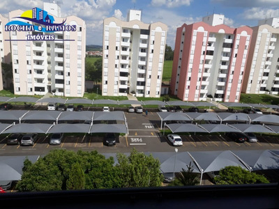 Apartamento Venda Parque Camélia Campinas Sp. Apartamento 2 Quartos,cozinha Com Armários, Sala 2 Ambientes Com Sacada, Área De Serviço E 1 Garagem. - Ap01107 - 33722780