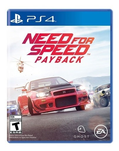 Need For Speed Payback Ps4 Nacional Midia Fisica