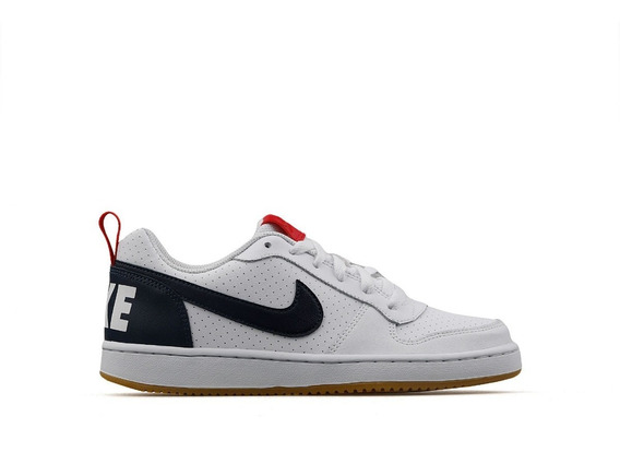 Tenis Nike Court Borough Low Blanco 839985 105