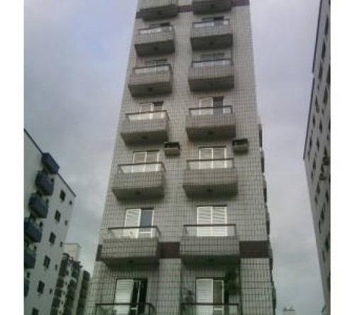 Apartamento Com 1 Dormitório À Venda, 43 M² Por R$ 180.000,00 - Vila Guilhermina - Praia Grande/sp - Ap0700