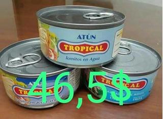 Vendo Atun Tropical Solido De 170gr