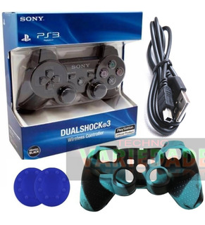 Control Play Station 3 Ps3 Playstation 3+silicona+cable+grip