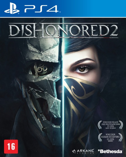 Dishonored 2 - Ps4 - Mídia Física - Novo