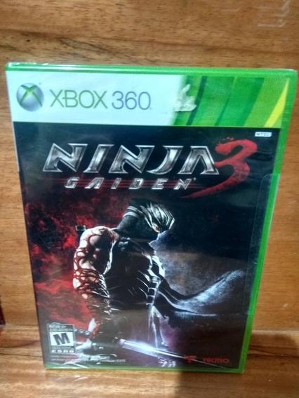 Ninja Gaiden 3[xbox 360 Importado Original Lacrado]