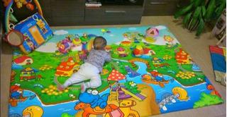Alfombra Antigolpes Para Niños Bebes 180x120