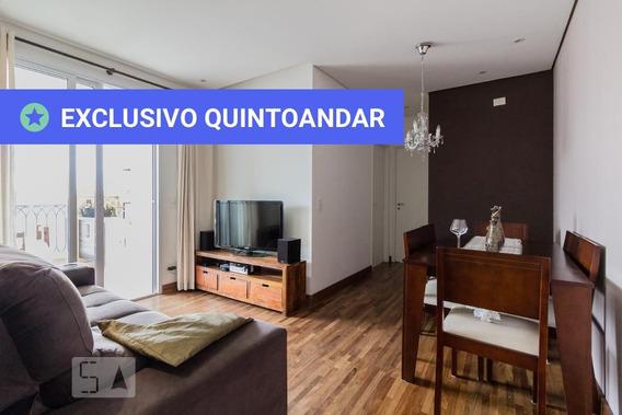 Apartamento No 15º Andar Com 2 Dormitórios E 2 Garagens - Id: 892952283 - 252283