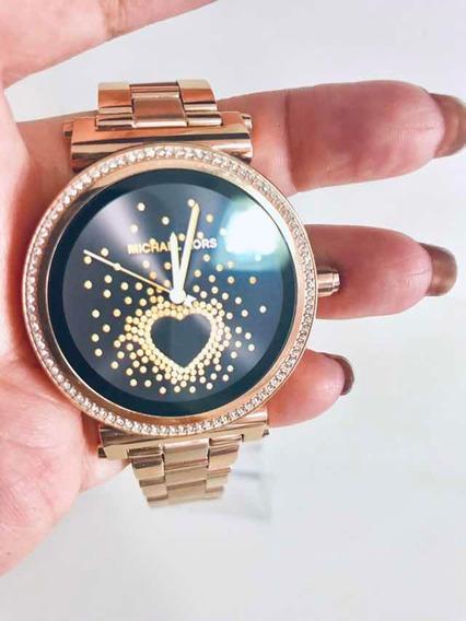 Relógio Michael Kors Digital Rosê