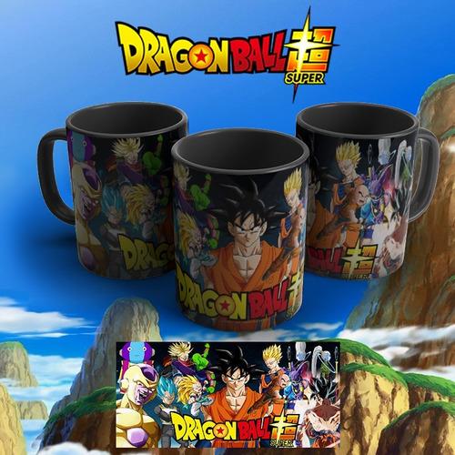 Imagem 1 de 1 de Caneca Preta Personalizada Dragon Ball Super