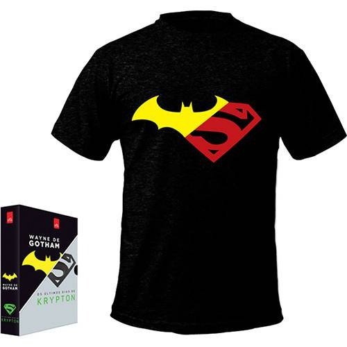 Box Wayne De Gotham + Os Últimos Dias De Krypton C/ Camiseta