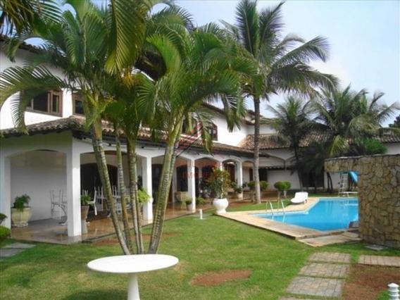 Maravilhosa Mansão Em Condomínio Espetacular No Guarujá - Sp Com 1200 M² De Área Construída - 5