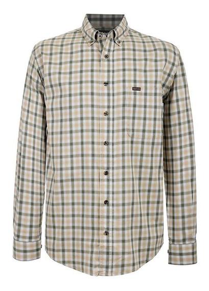 Camisa Casual Lee Hombre Manga Larga H23
