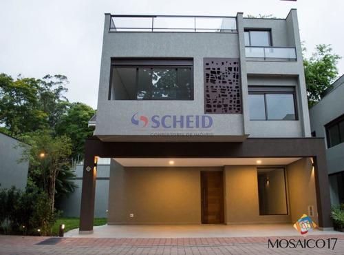 Casa Com Quatro Suites Em Santo Amaro - Mc8865