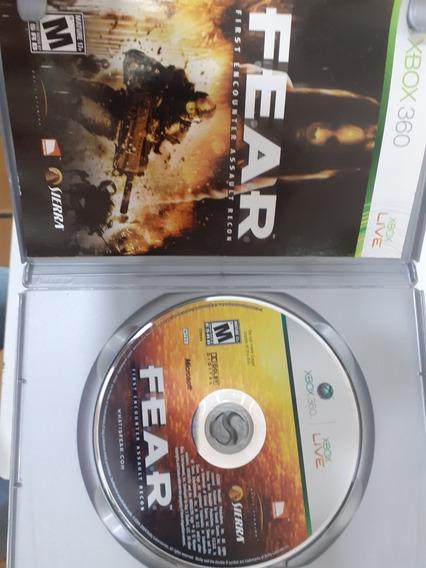 Fear First Encounter Assault Recon Xbox360 Original
