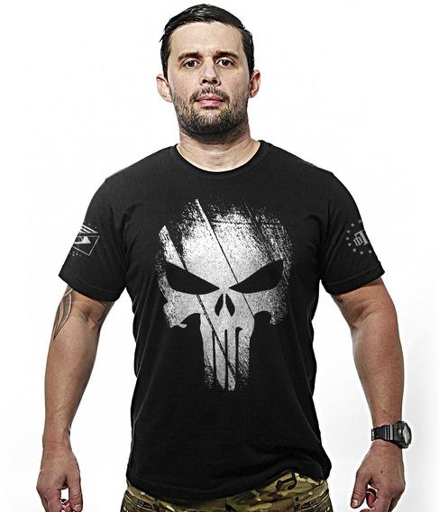 Camisa Militar Justiceiro Punisher