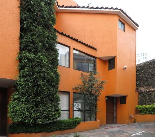 Excelente Casa En Condominio En Cuajimalpa