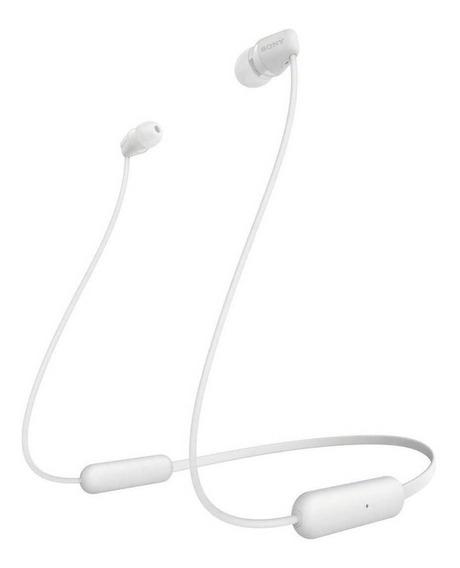 Fone de ouvido sem fio Sony WI-C200 white