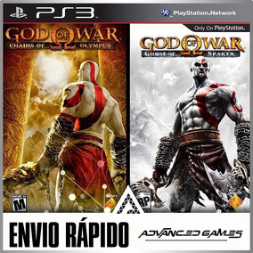 God Of War Chain Of Olympus E Ghost Of Sparta Jogos Ps3 Psn