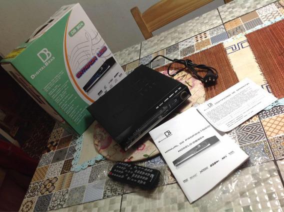 Dvd Db 904 Digitalbras - Semi-novo - Controle Com Defeito