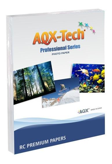 Papel Rc Satin Microporoso Rc Revelado - Papel Para Impresión Fotográfica Profesional 10x15 X100 Hojas