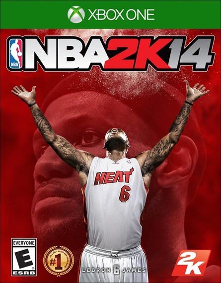 Jogo Novo Lacrado Nba 2k14 Da 2k Para Xbox One