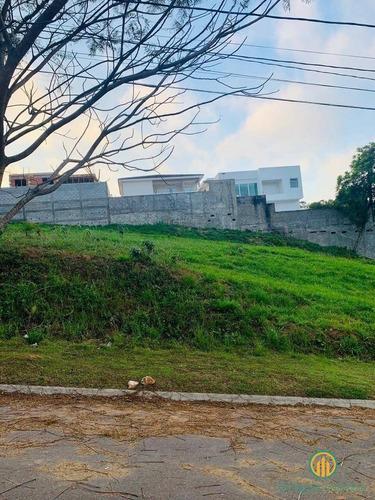 Ótimo Terreno Em Leve Aclive Condomínio Muito Bem Localizado  Granja Vianna - W1675