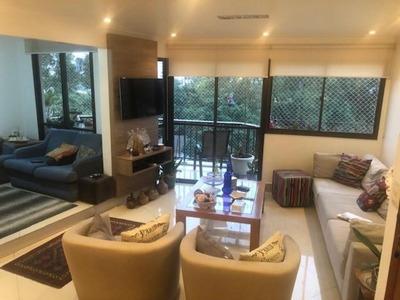 Apartamento Em Vila Mariana, São Paulo/sp De 129m² 4 Quartos À Venda Por R$ 1.270.000,00 - Ap207198