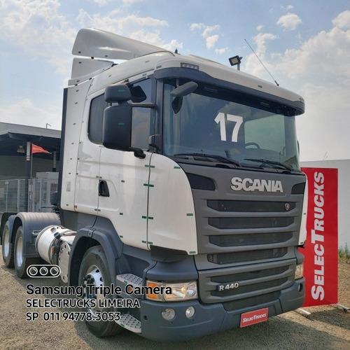 Imagem 1 de 14 de Scania  R 440 6x2 Optcruse