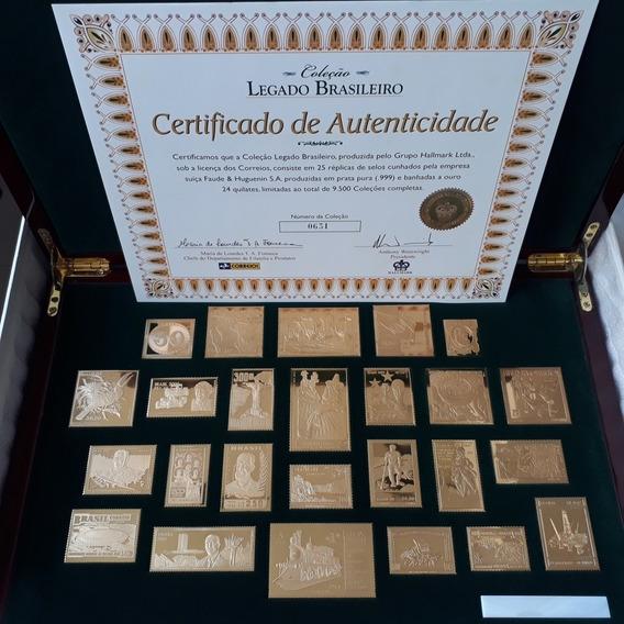 Coleção Selos De Ouro - Legado Brasileiro