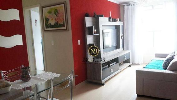 Apartamento Com 2 Dormitórios À Venda, 56 M² Por R$ 235.000,00 - Santa Quitéria - Curitiba/pr - Ap0005