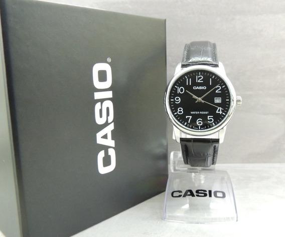 Relógio Casio Masculino - Mtp-v002l-1budf (nf E Garantia)