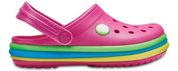 Crocs - Crocband Rainbow Clog Kids - 205205-6np