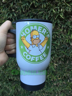 Termo Homero Simpson Personalizable