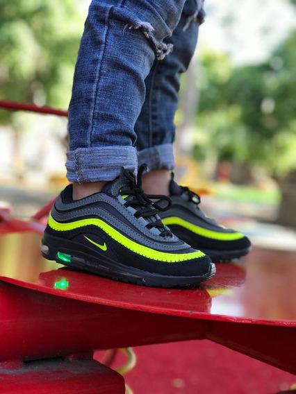 Zapatillas Tenis De Luces Para Niños Kids 26 Al 33