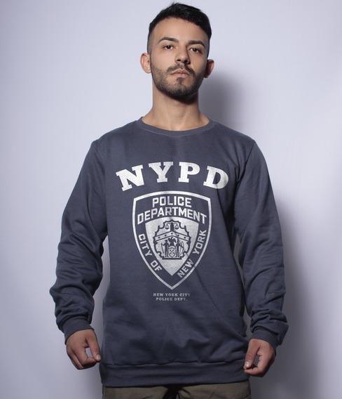 Casaco Básico Moletom New York City Police Department Nypd