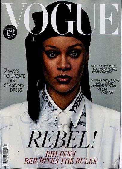 Vogue Revista Uk -rebel! Rihanna