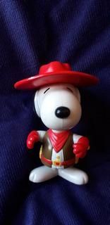 Muñeco De Snoopy De Colección Vaquero Salvaje Oeste