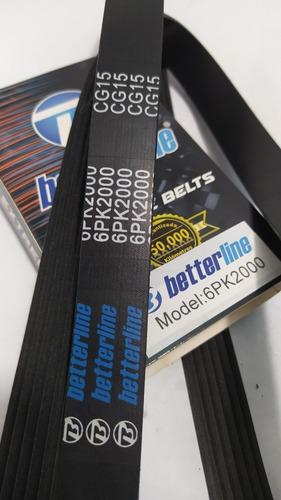 Correa Única Santa Fe Golf Kia Sportage 2.7 Tucson 6pk2000