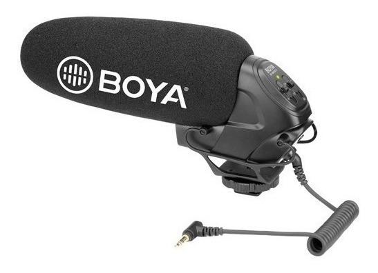 Microfone Shotgun Para Dslr Vídeo Boya By-bm3031 12x S/juros